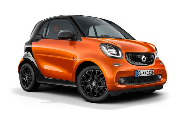 Renting SMART FORTWO COUPE