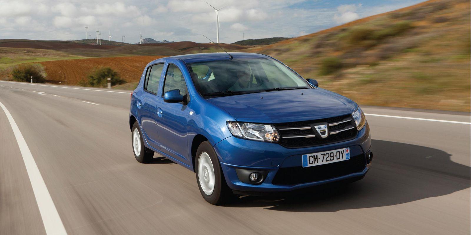 Dacia Sandero 10 coches más vendidos de 2017