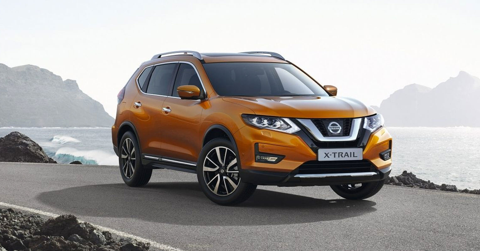 X-Trail, todoterreno 4x4 de Nissan