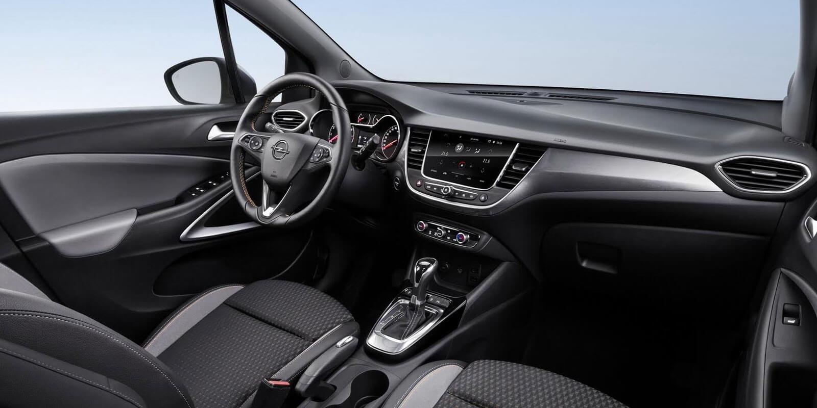 Opel Crossland X interior SUV 2018