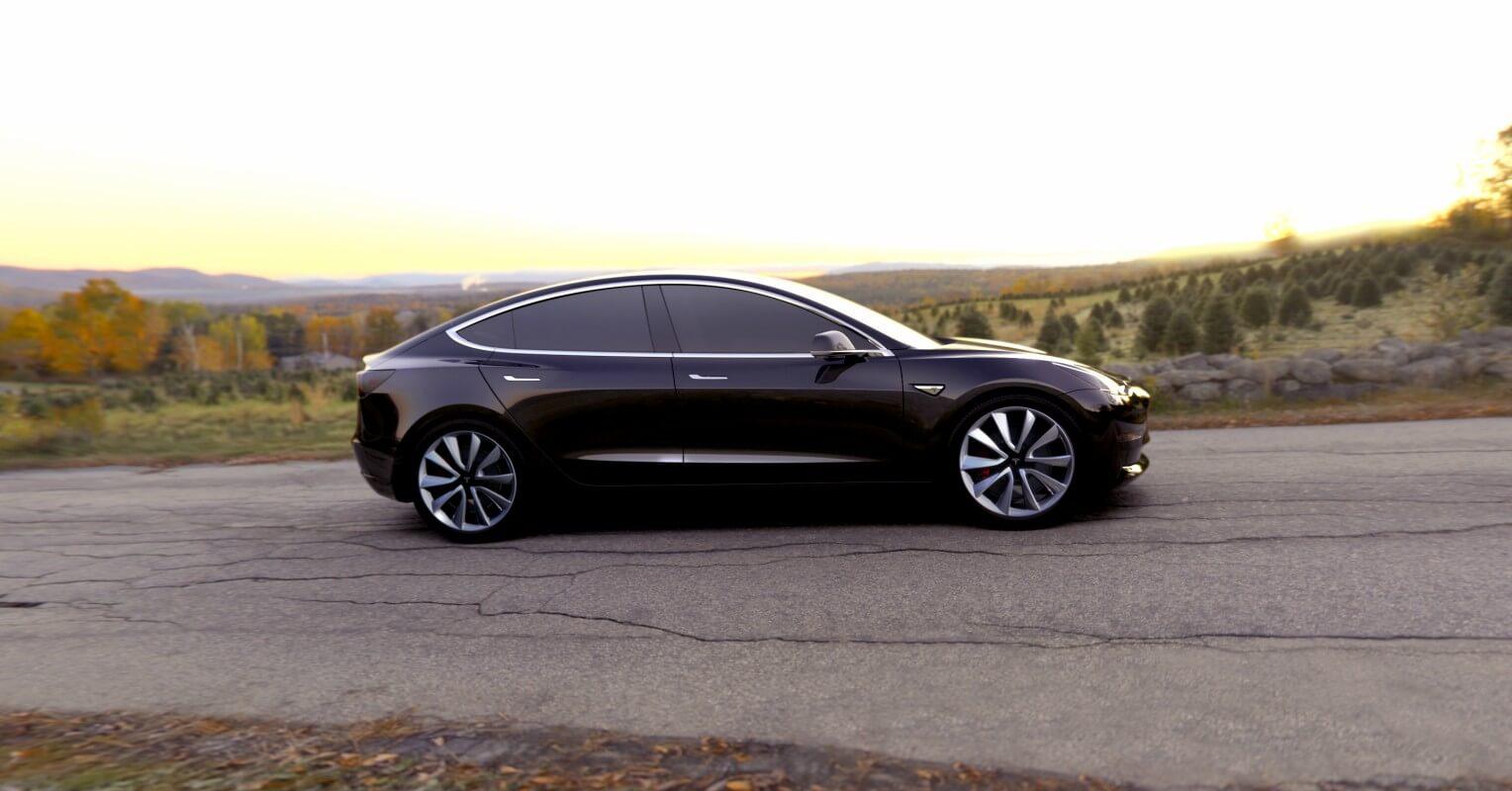 Tesla Model 3 contra Tesla Model S