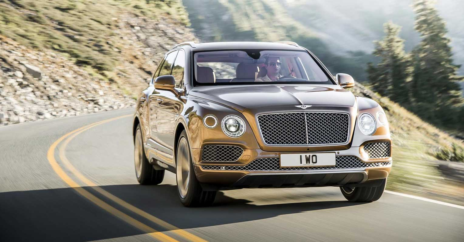 coches premium Bentley bentayga