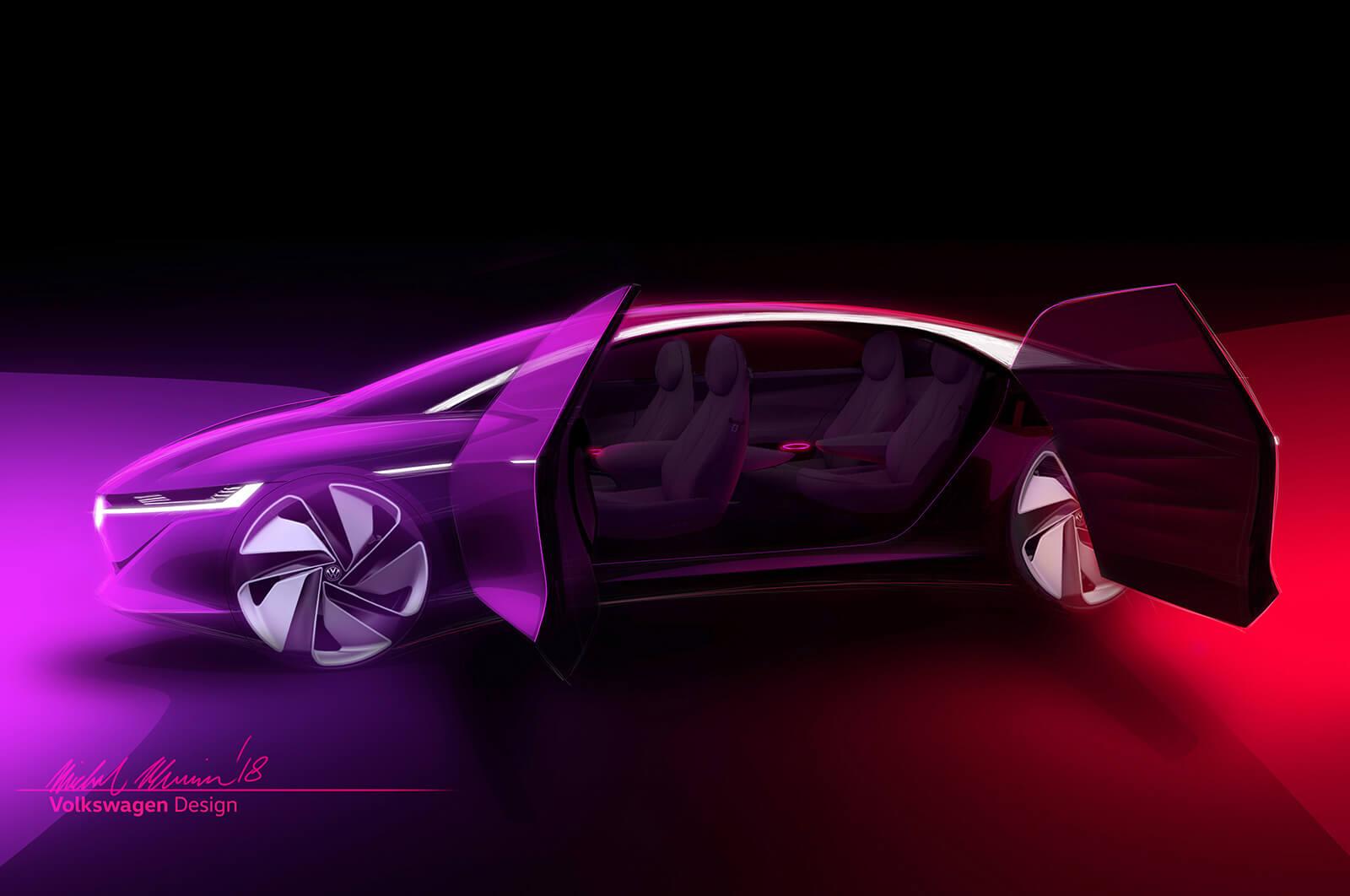 Volkswagen I.D. Vizzion Concept exterior