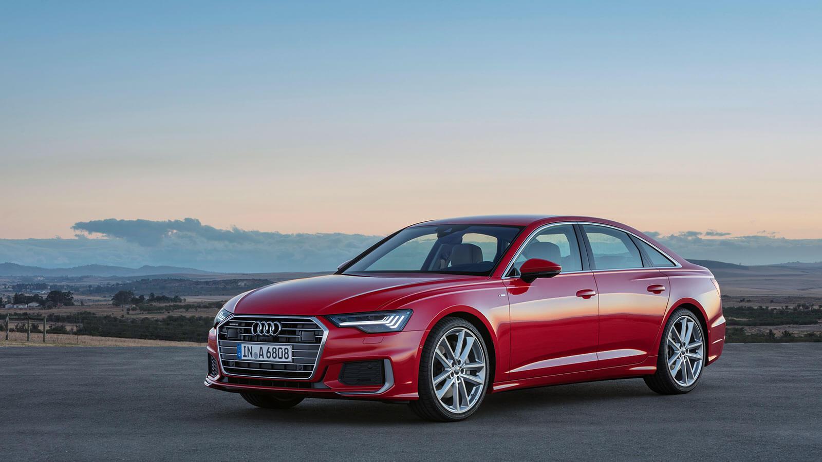 Audi A6 2018 exterior