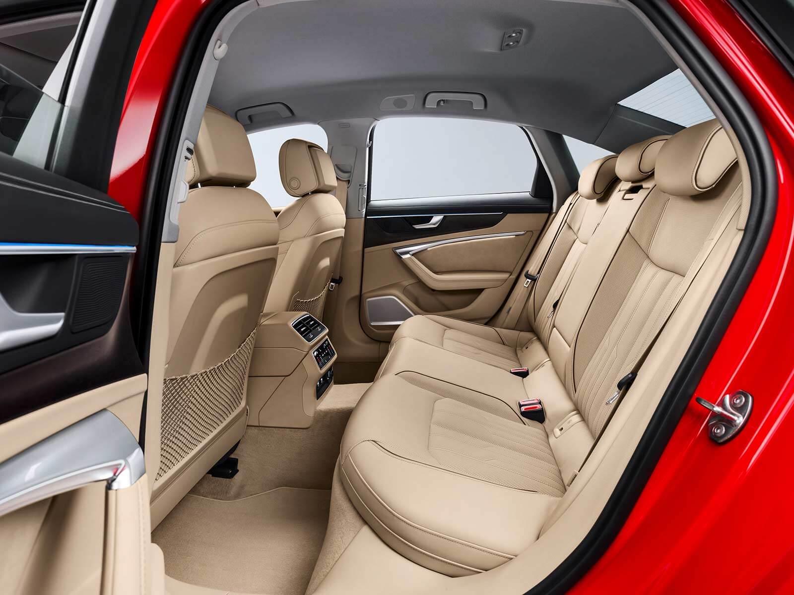 Audi A6 2018 pasajeros