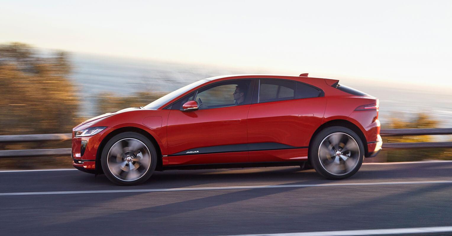 Jaguar I-Pace lateral