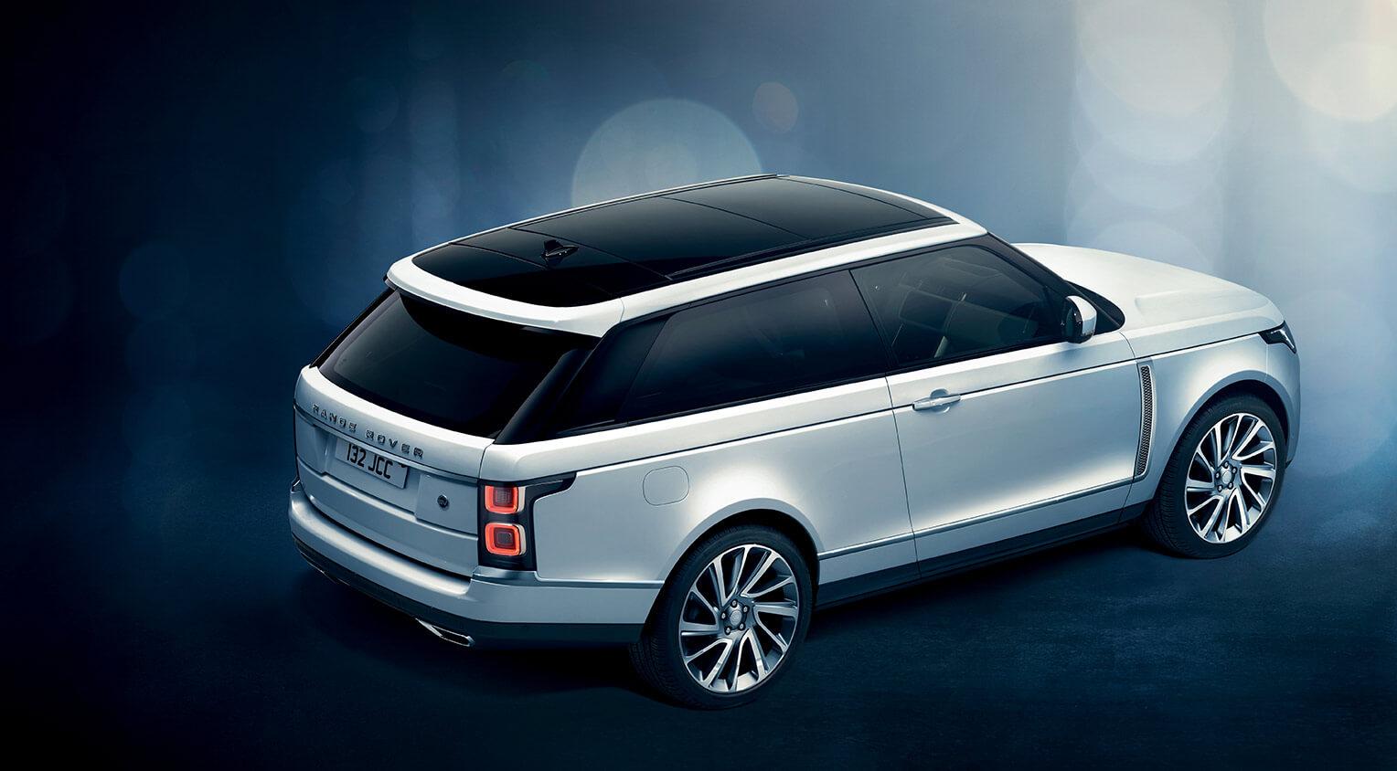 Range Rover SV Coupe trasera