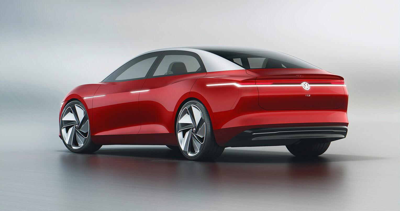Volkswagen I.D. Vizzion trasera
