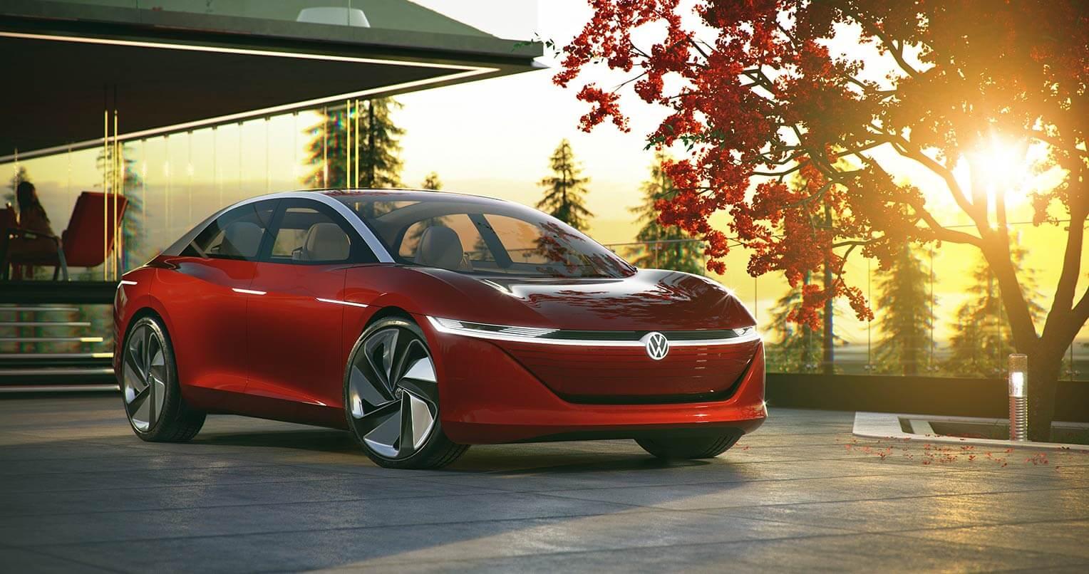 Volkswagen I.D. Vizzion Frontal