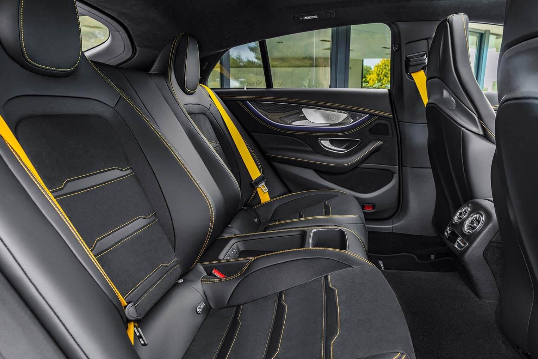 Mercedes-AMG GT asientos