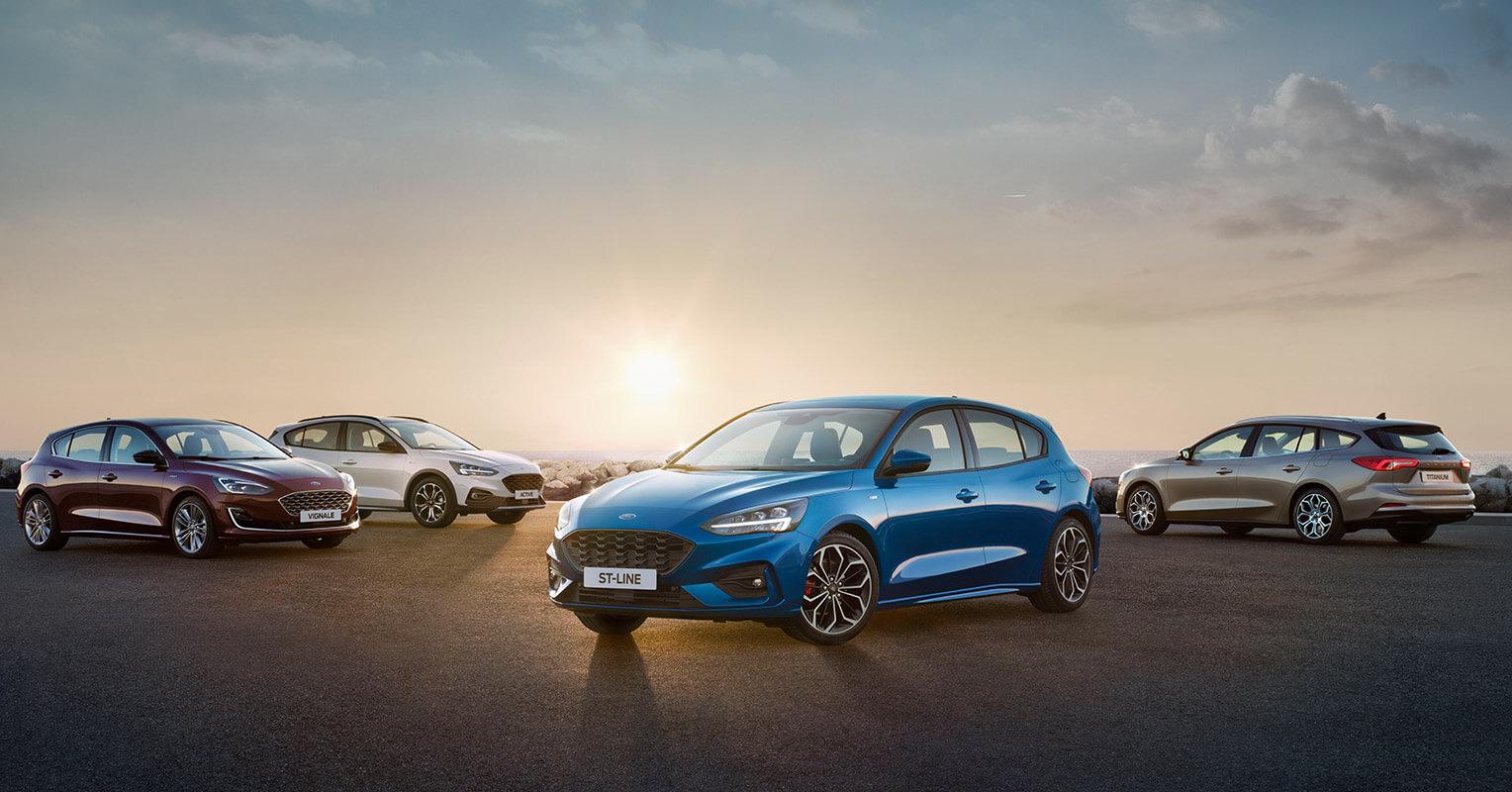 Ford Focus 2019 gama