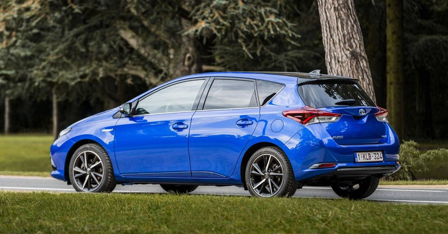 Trasera del Toyota Auris 2018