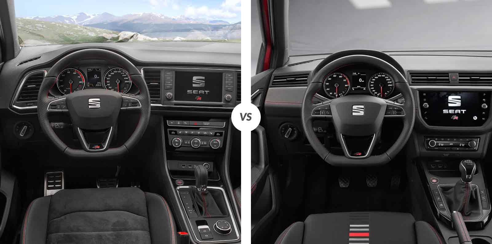 Vw T Roc >> Comparativa: SEAT Ateca vs SEAT Arona | Carnovo