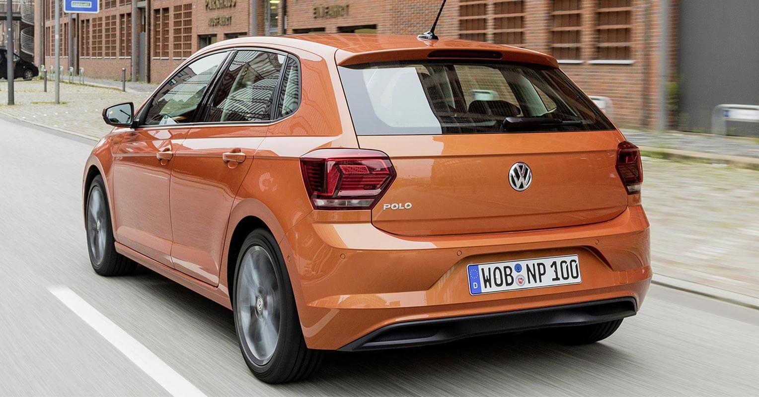 Culo del Volkswagen Polo 2018