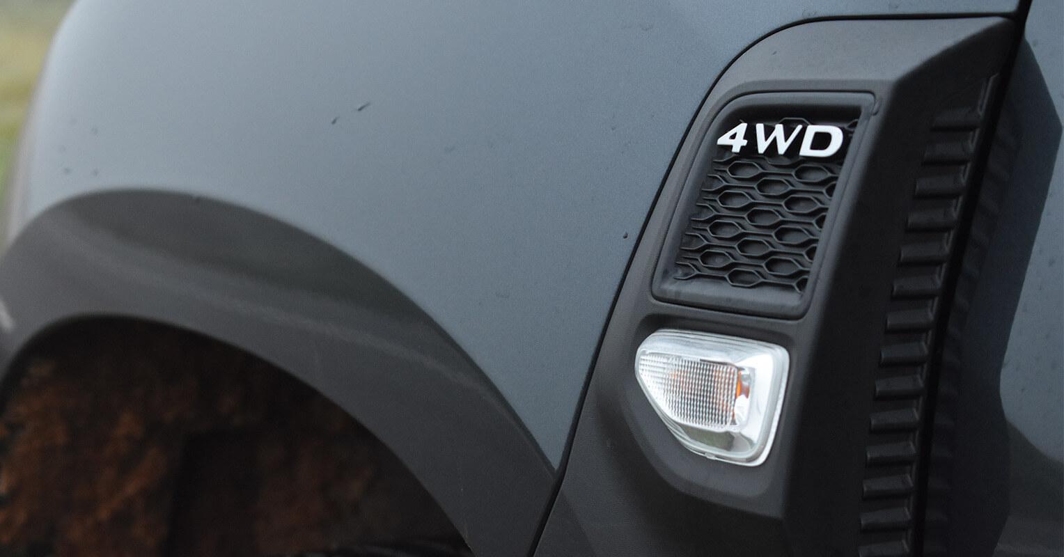 Moldura plástica del Dacia Duster 4x4 2018