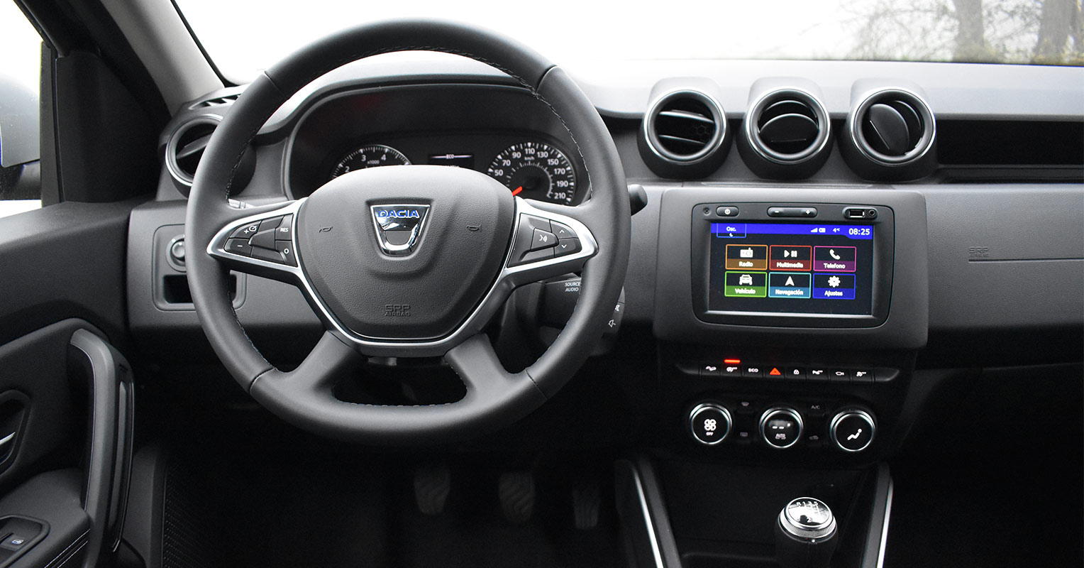 Interior del Dacia Duster 2018