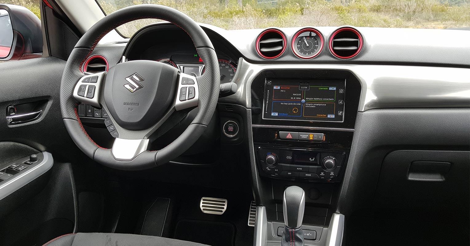 Interior del Suzuki Vitara 2018