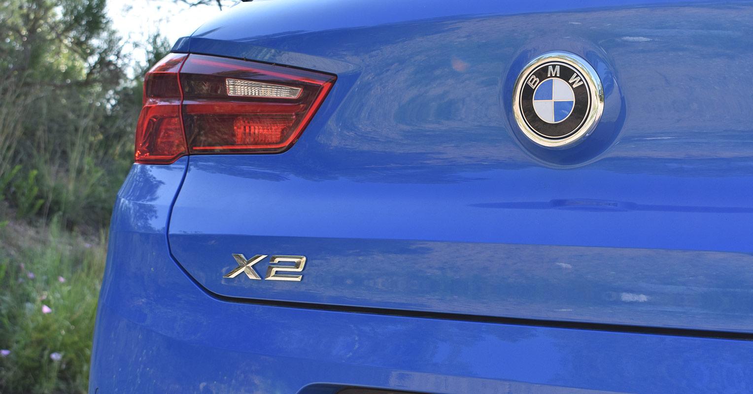 Faro trasero del BMW X2