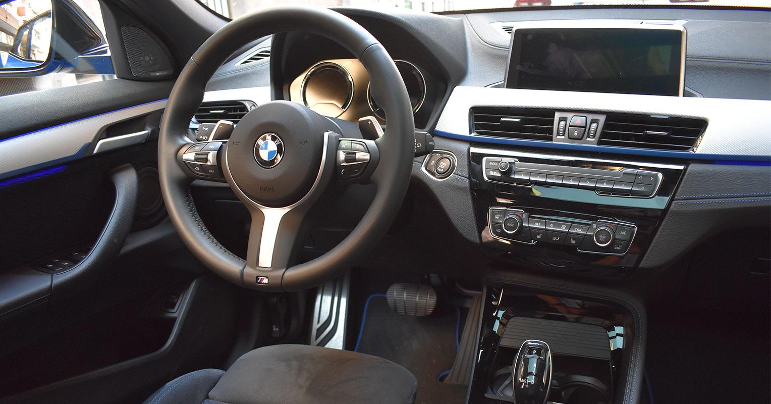 Interior del BMW X2