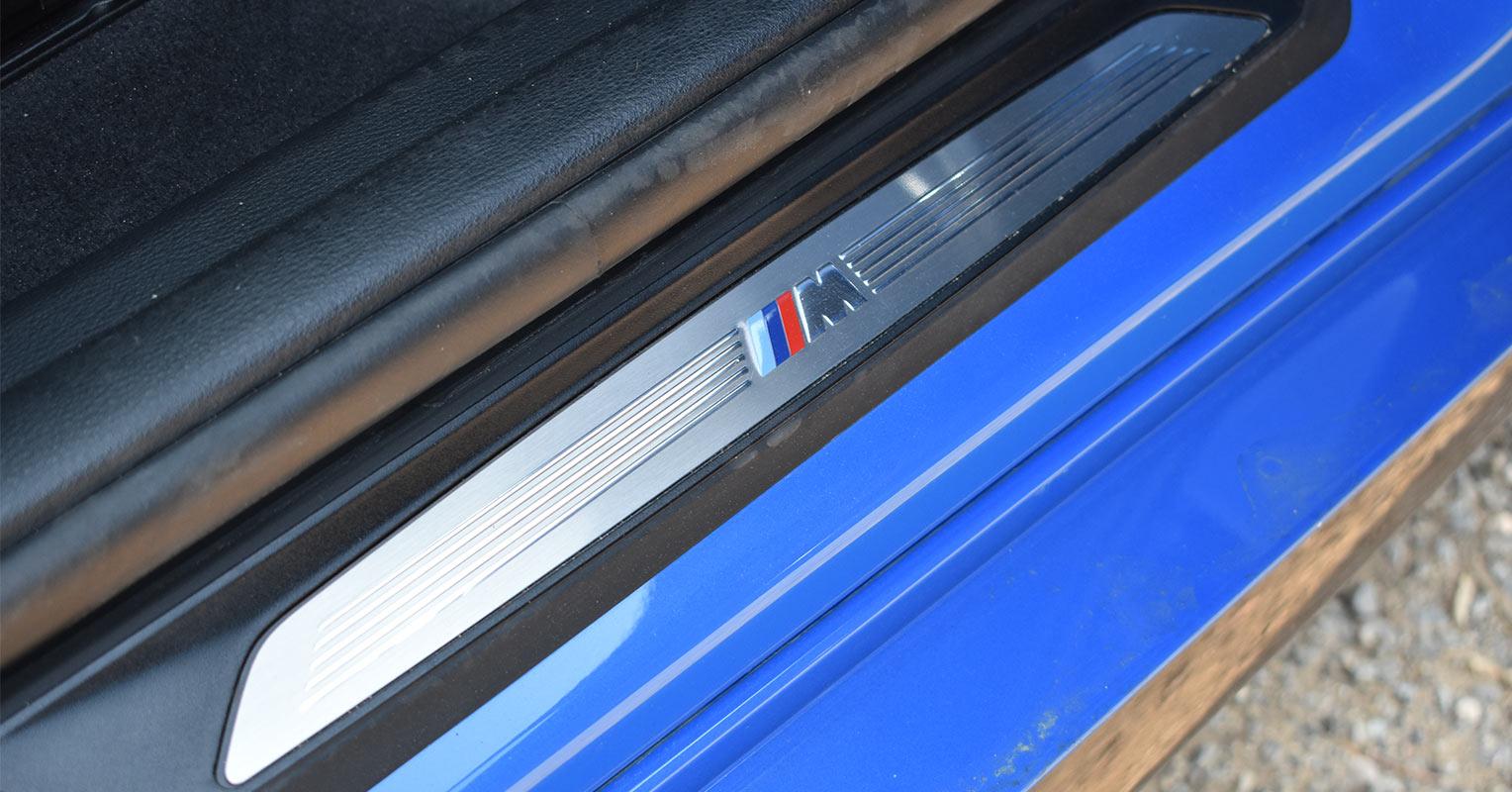 Talonera del BMW X2