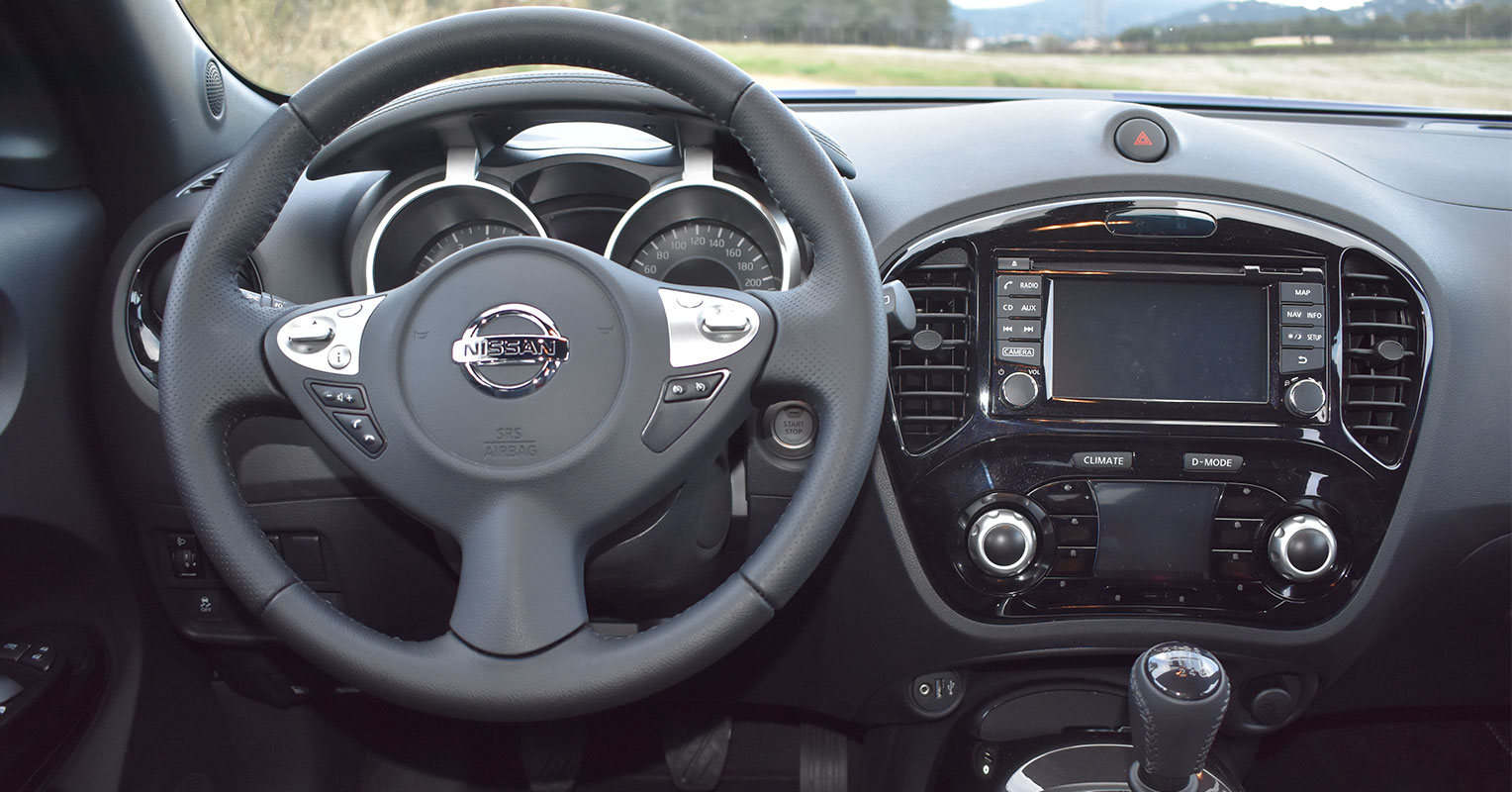 Interior del Nissan Juke 2018