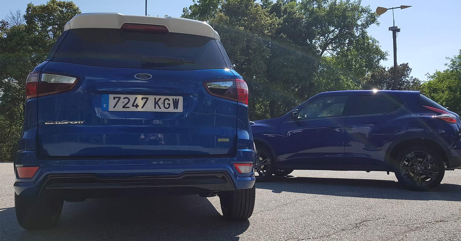 Trasera del Ford EcoSport 2018