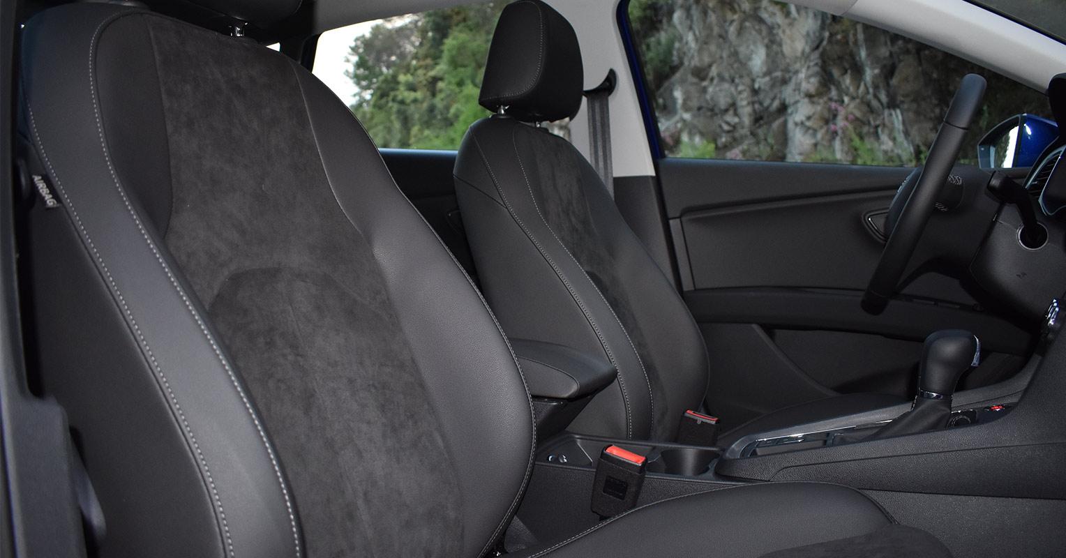 Asientos delanteros del SEAT León 2018
