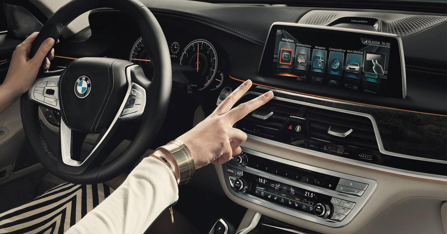 Control gestual BMW