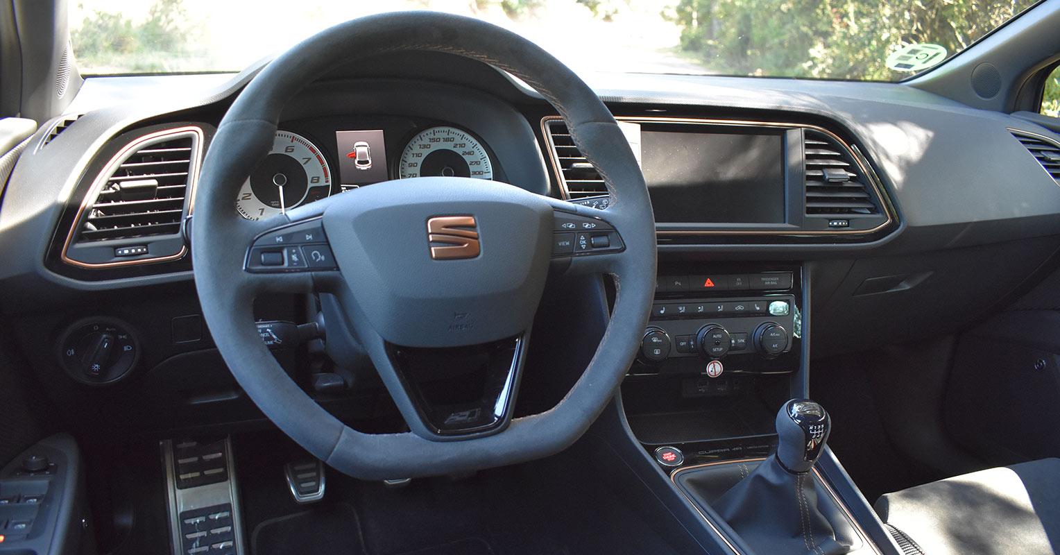 Interior del SEAT León Cupra R 2018