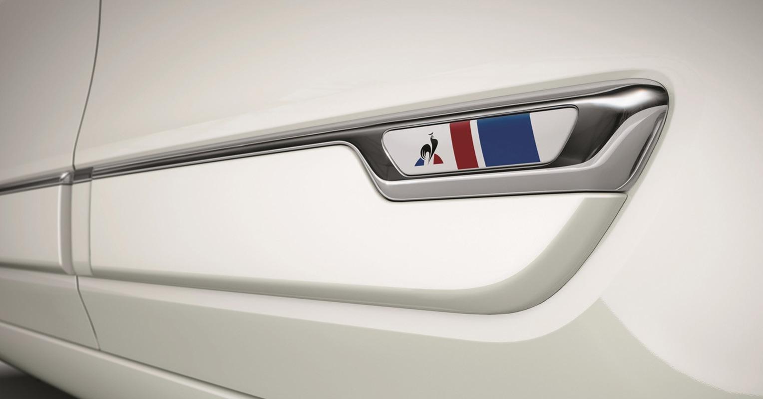 Logo del Renault Twingo Le Coq Sportif