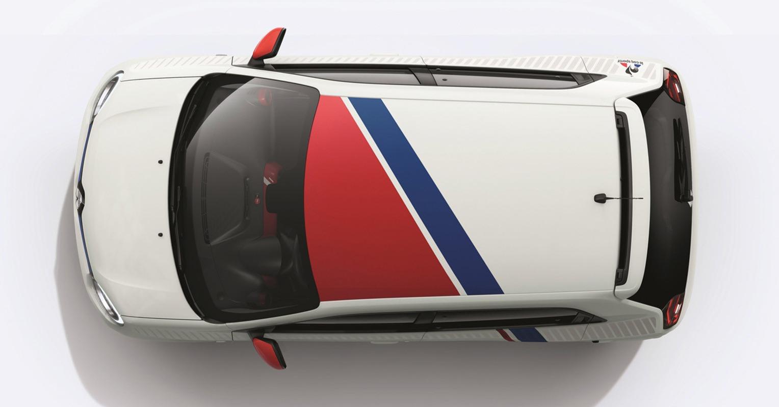Techo del Renault Twingo Le Coq Sportif
