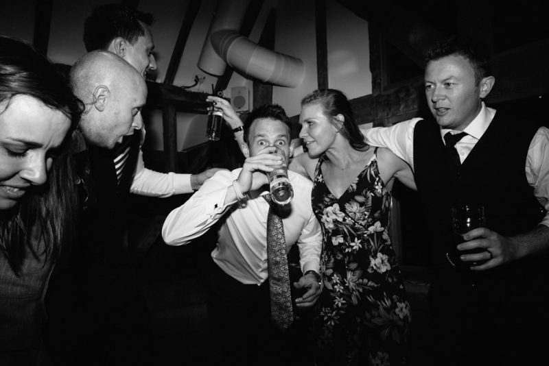 a dancing scene at a wedding