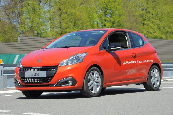 Peugeot 208 record 2