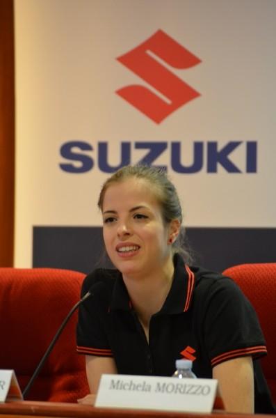 Suzuki e Carolina Kostner