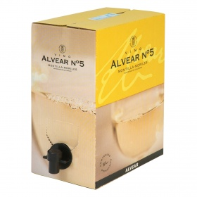 Alvear vino n 5 bag in box alvear montilla de 5l.