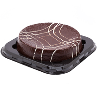 Tarta doble de chocolate deli de 1g.