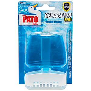 Pato aparato wc gel azul x de 55ml.