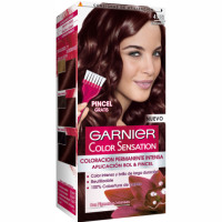Garnier color sensation tinte chocolate nº 4 15 coloracion permanente intensa pincel gratis en caja