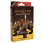 Xoc & chic vela chocolate nº 4