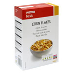 Eroski Basic cereales corn flakes de 500g.