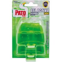 Pato desinfectante wc gel triple accion verde fresco ades 2