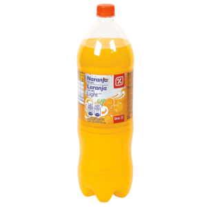 Dia naranja con gas light de 2l. en botella