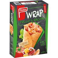 Findus wrap pollo & bacon de 150g. por 2 unidades