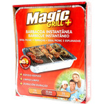 Magic grill barbacoa un solo uso unidad