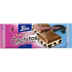 Tirma choco cream con cachitos galleta negra tableta de 120g.