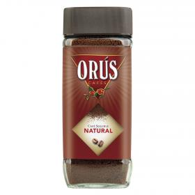 Orus cafe soluble natural de 200g.