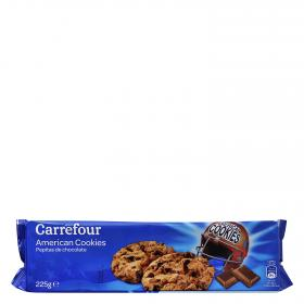 Carrefour galletas con pepitas chocolate de 225g.