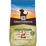 Hill's Ideal Balance adult alimento elaborado con ingredientes naturales perros adultos con pollo arroz envase de 12kg.