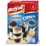 Royal creaciones mousse oreo de 166g.