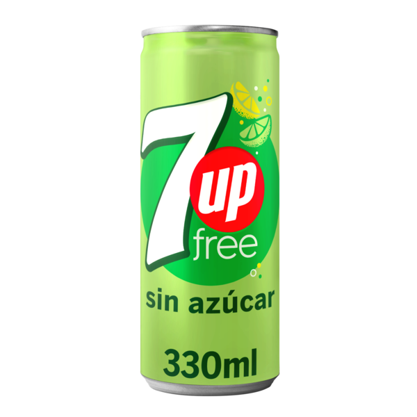 7up 7up free lata 330ml de 33cl.